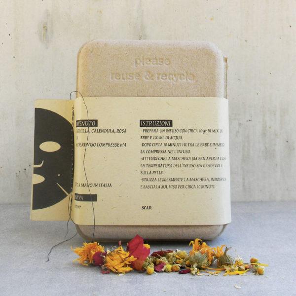 Lumen maschera botanica viso Hyperborea